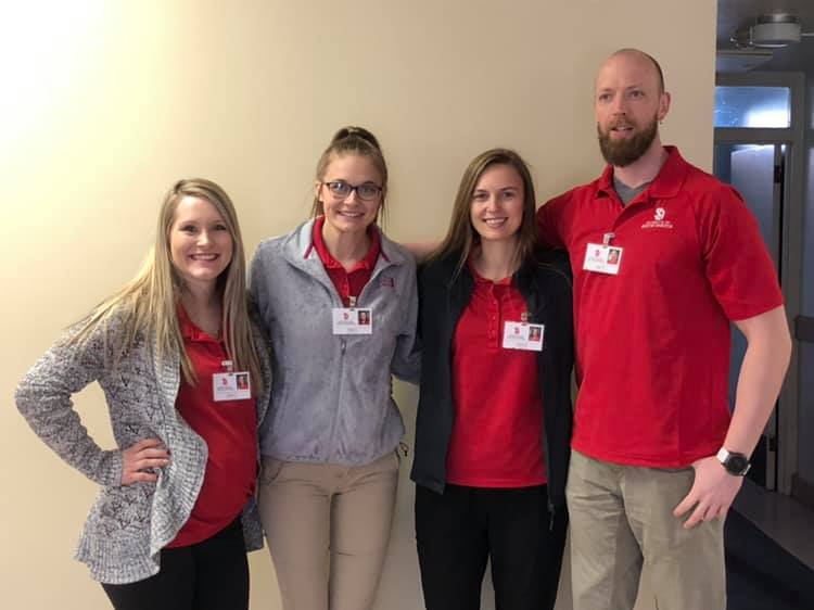 USD School of Nursing Students Continue to Help